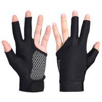 ビリヤード グローブ 3本指 ビリヤード手袋 右利き用 男女兼用 ビリヤードグローブ 右手 ユニセックス