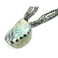 ■ ゴージャス屋ならではの、大迫力ネックレス ■ 大きな貝に多線構造のネックラインで相乗効果のインパ...
