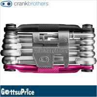 クランクブラザーズ 自転車携帯工具17機能 マルチ 17 ブラック/ピンク(641300159953...