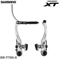 SHIMANO(シマノ) Deore XT BR-T780-S Vブレーキ (シルバー) ・スポーテ...