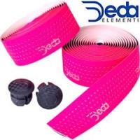 DEDA(デダ)MISTRAL バーテープ 蛍光ピンク(FLUO)  ・スムーズな表面素材、クッショ...