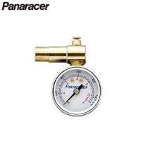 Panaracer(パナレーサー) タイヤゲージ 仏式バルブ専用 BTG-F 空気圧調節機能つきで、...