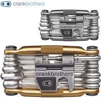 CRANK BROTHERS(クランクブラザーズ)マルチ 19 携帯工具 フレーム:6061-T6ア...