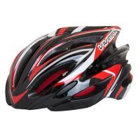 VIVIMAX 自転車ヘルメット R22N ブラック/レッド 派手すぎない外観はどんな場所でもマッチ...