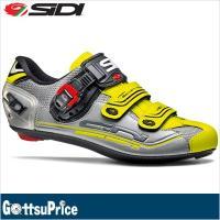 SIDI シディ ジェニウス7 ロードサイクルシューズ スチール/シルバー/イエロー  ベストセラー...