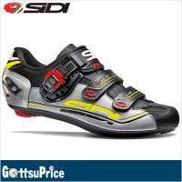 SIDI シディ ジェニウス7 ロードサイクルシューズ ブラック/シルバー/イエロー  ベストセラー...