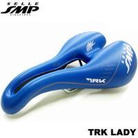 【送料無料】SELLE SMP(セラSMP)TRK LADY サドル ブルー MANと比べて幅広なボ...