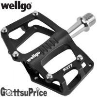 Wellgo(ウェルゴ)R277 自転車軽量フラットペダル  材質:アルミニウム 重量:約228g ...