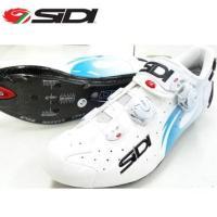 【送料無料】SIDI(シディ)WIRE Carbon ワイヤー WHT/L.BLU Vnc サイクル...