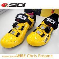 【在庫あり】【送料無料】SIDI(シディ) WIRE クリス・フレーム 限定モデル サイクルシューズ...
