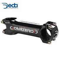【在庫あり】DEDA(デダ)ゼロ 1BLK 31.7mm 2014ステム 重量:133g(110mm...