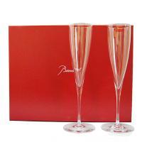 シャンパンの発明者、ドンペリ僧侶から名前がとられたこのグラスは、1964年のバカラ社創立200周年展...