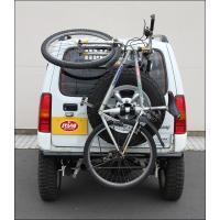 ジムニー全車用。自転車1台を気軽に積載できるホルダーです。スコップを2本取り付けることも可能な優れも...