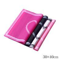 ■商品名 ネイルシリコンマット 30x40cm ■カラー ホワイト/ブラック/ライトピンク/ピンク ...