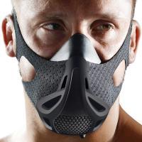 ・肺活量を鍛えるアスリート用マスク。低酸素、高地でのトレーニングをシュミレートし、ランニング、サイク...
