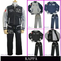 Kappa life styleの人気シリーズ!   カラー杢の裏毛素材を使用。「ITA」と国旗はフ...