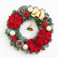 おしゃれなクリスマスリース 玄関【SP300】