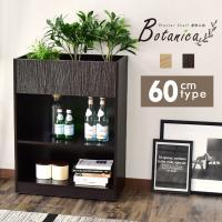 プランター 収納 ボックス 間仕切り オフィス 応接室 観葉植物 幅60 奥行30 高さ80 ボタニカ60