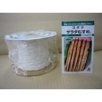 シーダー種子 ごぼう サラダむすめ(てがるゴボウ)1粒×5cm×200m巻