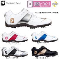 送料無料 フットジョイ FootJoy 女性用 ゴルフ シューズ 靴 クツ ソフトスパイク 白 黒 ...