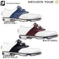 送料無料 フットジョイ FootJoy 男性用 ゴルフ シューズ 靴 クツ ソフトスパイク 白 青 ...