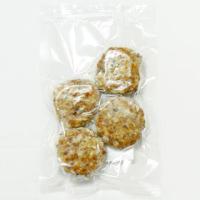 原材料に徹底的にこだわった有機野菜使用れんこんミニハンバーグ 4個 ベジタリアン、ダイエット|greens-gc|02