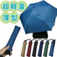 厚さ約30mmの薄型! 開いて大きくバッグにピッタリビジネス傘! アルミ素材の超軽量!!  品番:3...