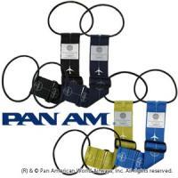 「PAN AM(パンナム)」オリジナルデザインのバッグとめるベルトです。 サブバッグをスーツケースの...