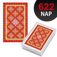 高品質の任天堂のプラスティックトランプ。  品番:NAP622(赤) サイズ:約幅58×高さ89mm...