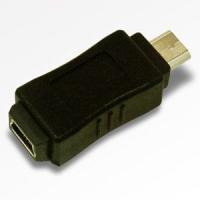 USB変換アダプタ USB miniB端子をマイクロB端子へ変換できます。 お手持ちのケーブルを有効...