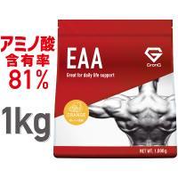GronG(グロング) EAA オレンジ  風味 1kg (100食分)  10種類 アミノ酸 サプリメント 国産