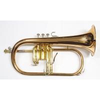 B♭フリューゲルホルン ベルサイズ:151.8mm ベル:ゴールドブラスベル/二枚取り 仕上げ:クリ...