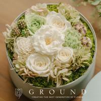 祝電 電報 結婚式 おしゃれ 花 結婚祝い プリザーブドフラワー プレゼント ギフト ブリザードフラワー ボックス サプライズ お祝い バラ