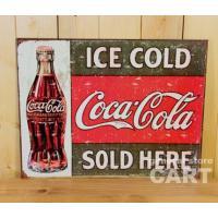 世界中で愛飲されているWORLD FAMOUS COMPANY『コカコーラ』。  USED感ある錆び...