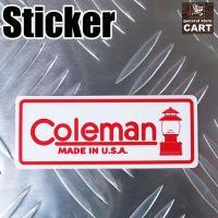 アウトドアブランドで有名な『Coleman -コールマン-』。  ランタンの代名詞的ブランドの旧ロゴ...
