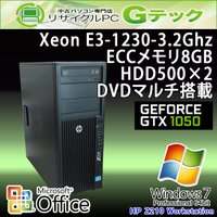■型番 Z210 Workstation  ■OS Windows7 Professional 64...