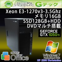 ■型番 Z230 Workstation  ■OS Windows7 Professional 64...