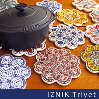 16世紀、トルコ北西部の町IZNIK-イズニク-で生まれた陶器は、オスマン朝建築の装飾にも広く用いら...