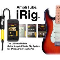 AmpliTube iRigは、iPhone/iPod Touch/iPadをギター・アンプ &am...