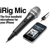 iRig Micは、iPhone、iPod touch、iPadで使える、高品位なコンデンサーマイク...