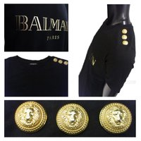 バルマン (BALMAIN) レディース ユニセックス 半袖Tシャツ カットソー 108564 326I C0100  71A