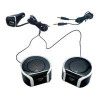 YAC ヤック TP200 【送料540円】車載スピーカー Bluetooth ツインセパレートクリアサウンドスピーカー USB2.4A TP-200 左右2個セット