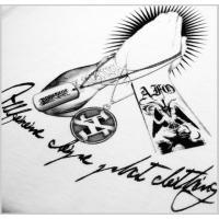 【AFO】 INORI Tシャツ 【ホワイト】【ゆうパケット配送対象商品】