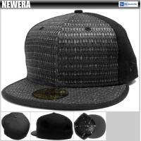 【NEWERA】 RAW STRAW BB CAP 【LIMITED EDITION】【ブラック】
