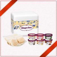 ハーゲンダッツ アイスクリーム[送料込み]もなか・ミニカップ6個セットS