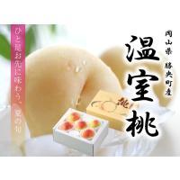 岡山県産の温室栽培の白桃を一足先にお届けします。  現在、生産者はたった1人ですので数量限定の販売と...