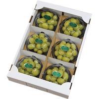 ぶどう 瀬戸ジャイアンツ 摘み落とし 秀品 200g x 6パック 岡山県産 JAおかやま 葡萄 ブドウ