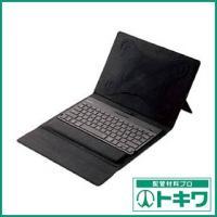 特長:●手触りがよく丈夫なソフトレザーを採用したタブレットカバータイプのタブレット用ワイヤレスBlu...