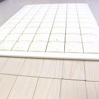 珪藻土タイルバスマット ホワイト Lサイズ