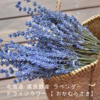 ●【北海道・富良野ラベンダー/おかむらさき】のドライフラワー100gです♪  ●花束でのドライフラワ...